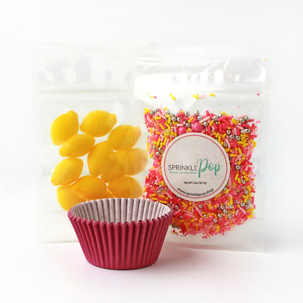 Pink Lemonade Cupcake Kit