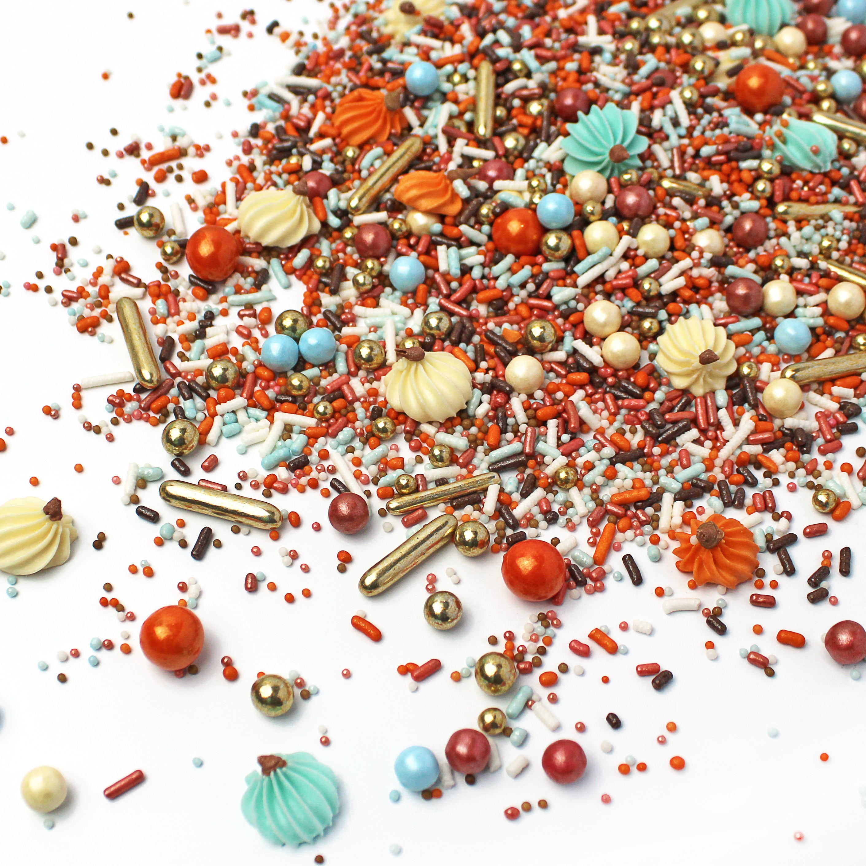 Pumpkin Carriage Sprinkle Mix