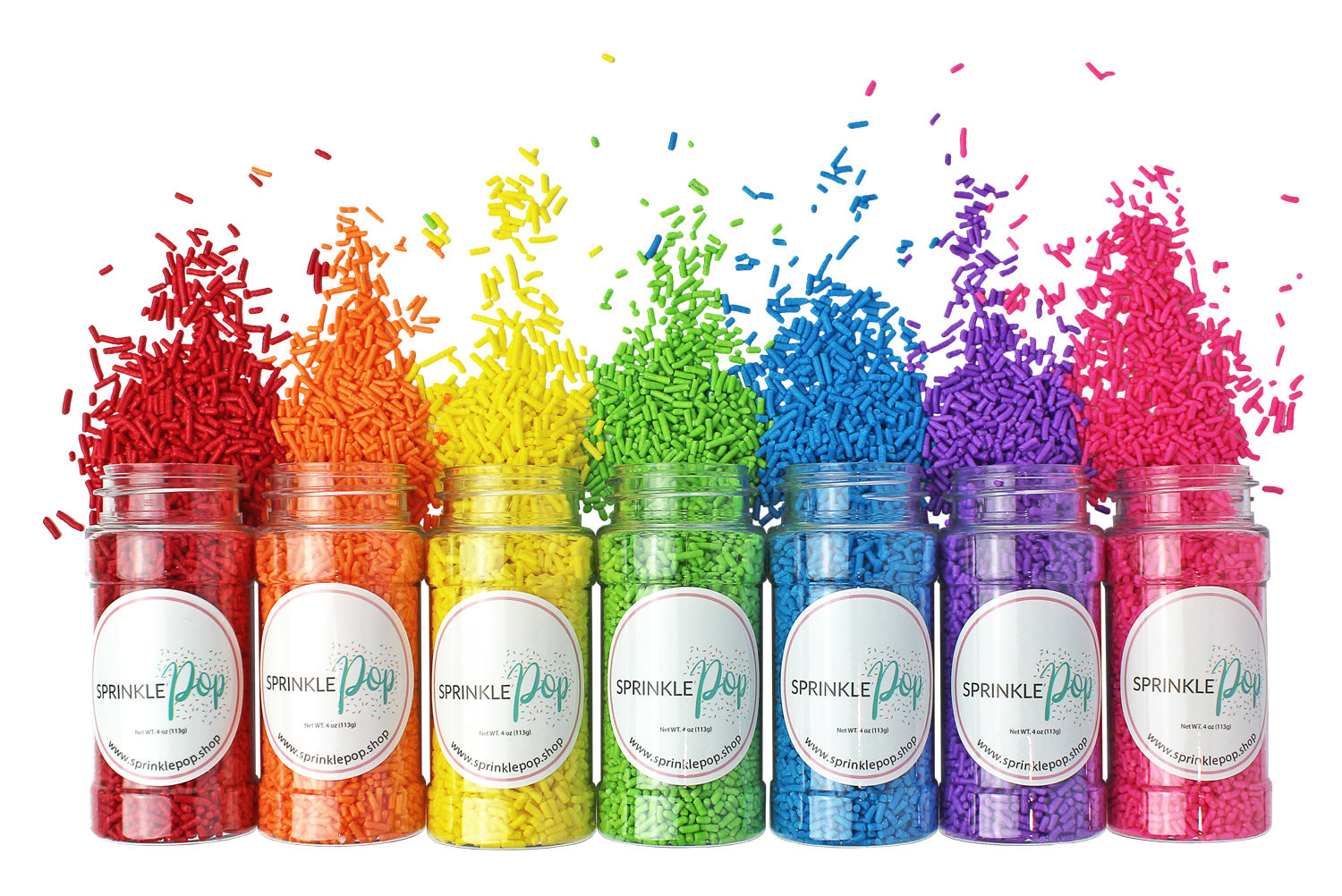 Rainbow Of Flavors Collection Set