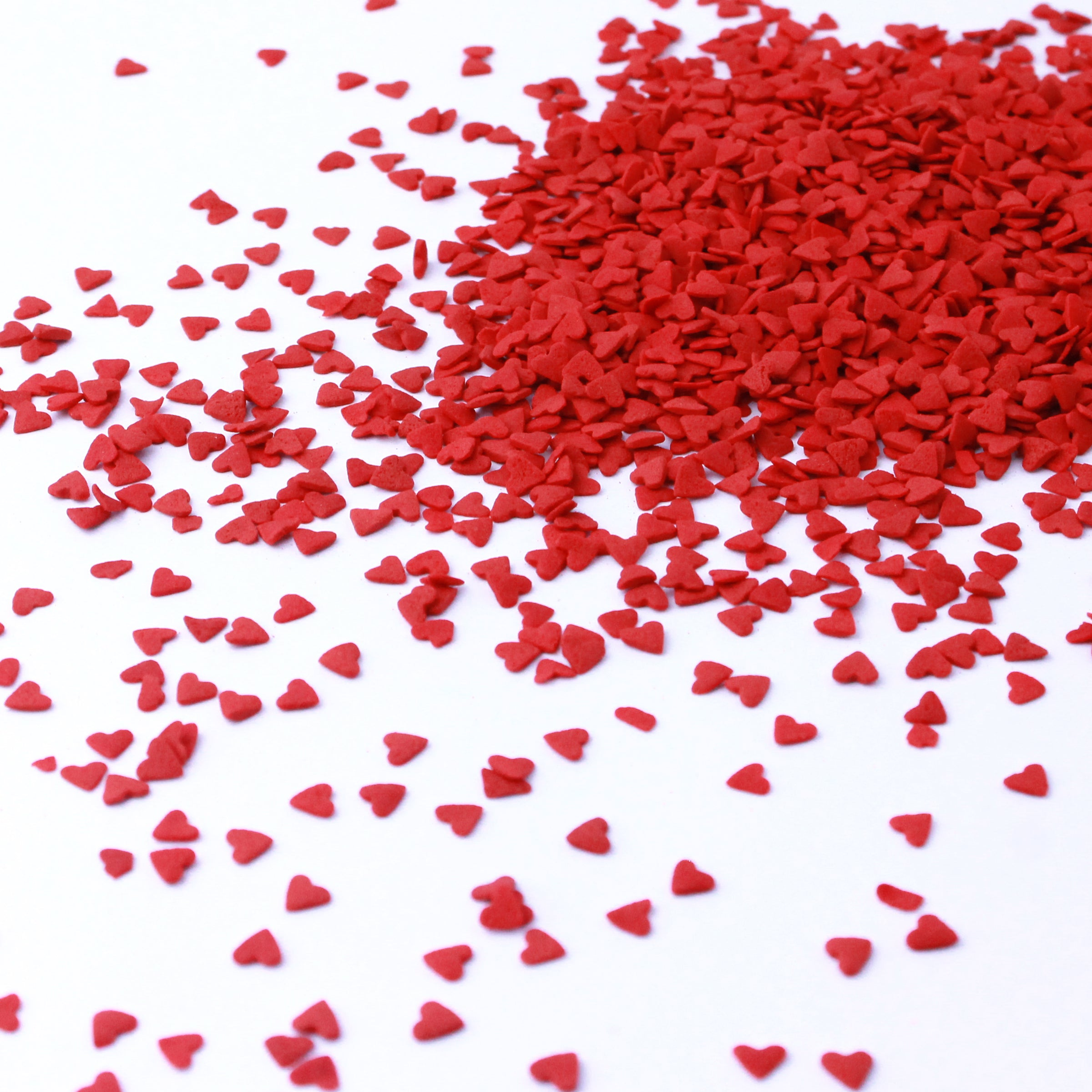 Red Heart Confetti Sprinkles