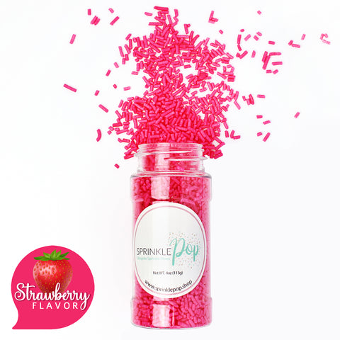 Strawberry Flavored Sprinkles