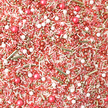 Vintage Rose Gold Sprinkle Mix