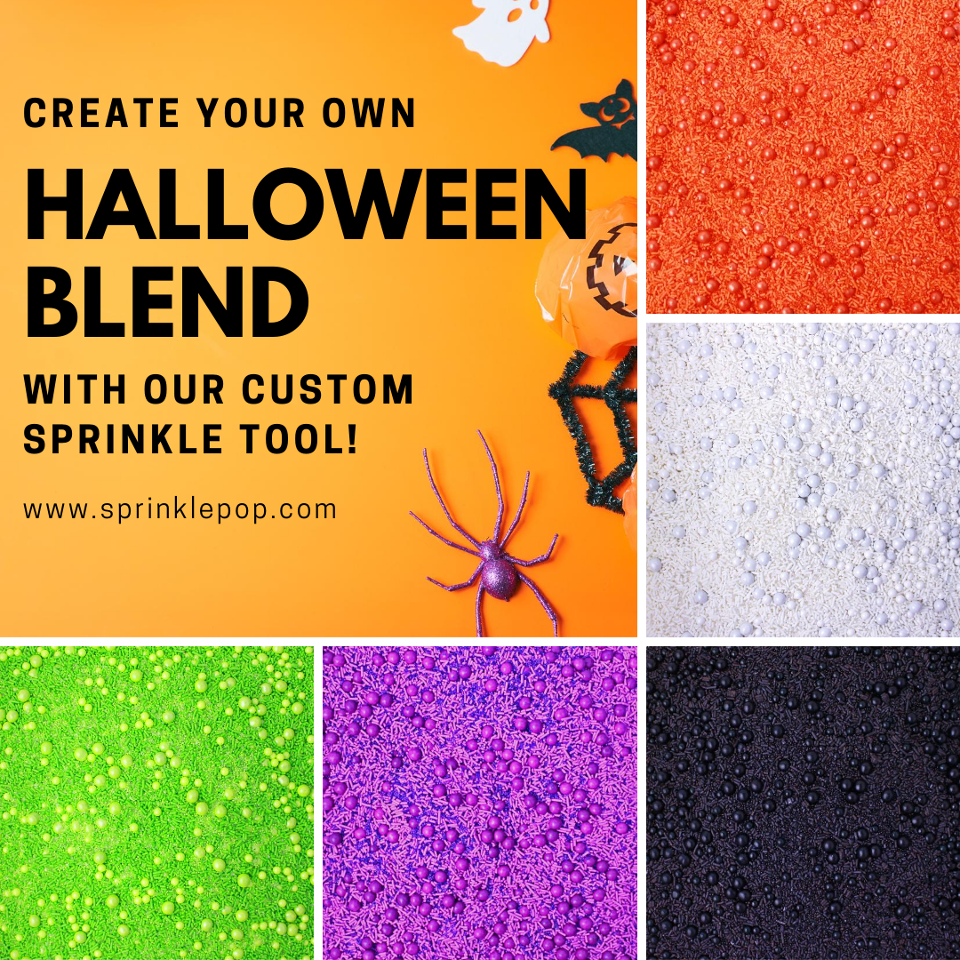 Halloween Custom Sprinkle Mix