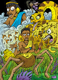 Anansi and the Sky-God's Stories