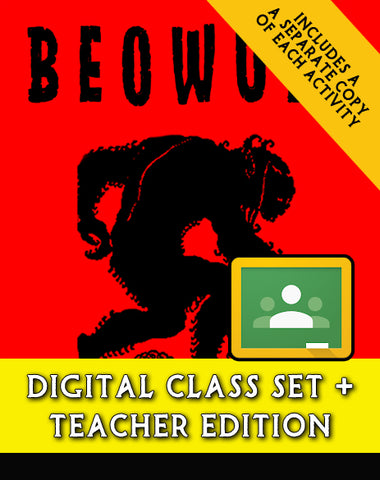 Beowulf Script-Stories (Digital Class Set)