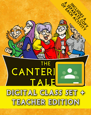 Canterbury Tales Script-Stories (Digital Class Set)