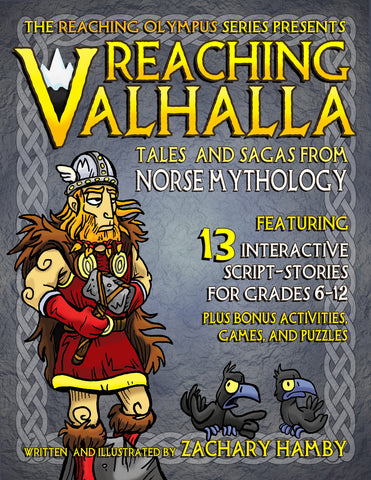 Reaching Valhalla:  Tales and Sagas from Norse Mythology (Digital Download)