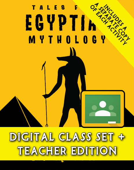 Tales from Egyptian Mythology:  A Script-Story Collection (Digital Class Set)