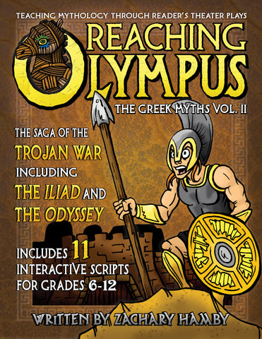 Reaching Olympus:  The Saga of the Trojan War and the Odyssey (Digital E-Book)