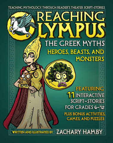 Reaching Olympus: Heroes, Beasts, and Monsters (Print Textbook)