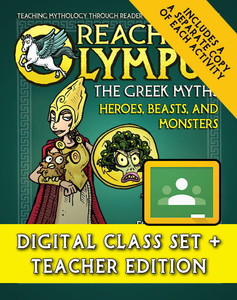 Reaching Olympus: Heroes, Beasts, and Monsters (Digital Class Set)