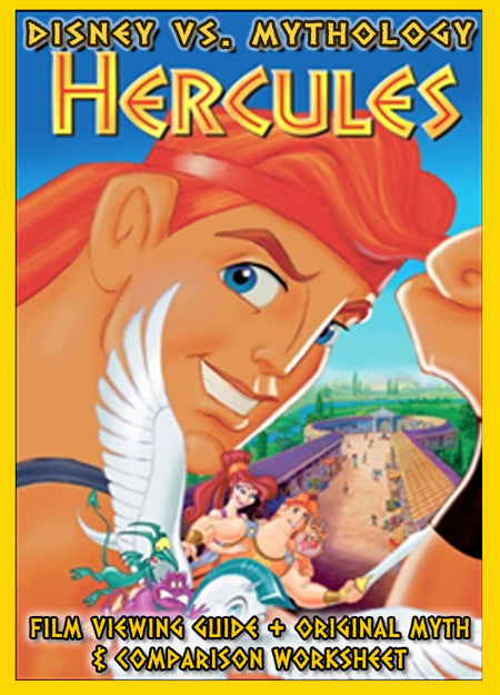 Disney vs. Mythology:  Hercules Film Viewing Guide