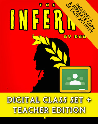 The Inferno:  A Reader's Theater Script-Story Collection (Digital Class Set)