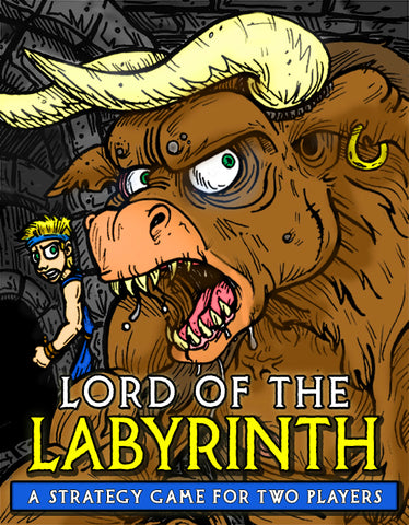 Lord of the Labyrinth: A Theseus vs. the Minotaur Game