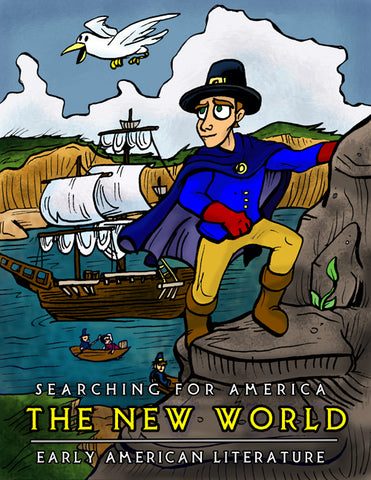 Searching for America: The New World, Early American Literature (Digital E-Book)