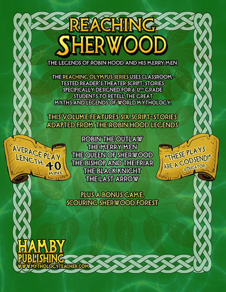 Reaching Sherwood:  The Legends of Robin Hood and His Merry Men (Digital student Copy + Usage Rights for Digital Classrooms)