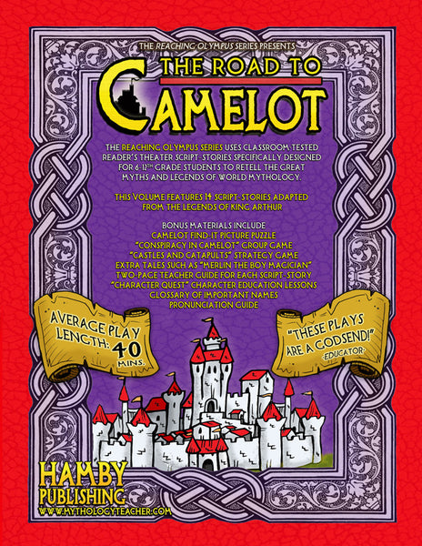 The Road to Camelot: Tales and Legends of King Arthur and His Knights of the Round Table (Digital Student Copy + Usage Rights for Digital Classrooms)