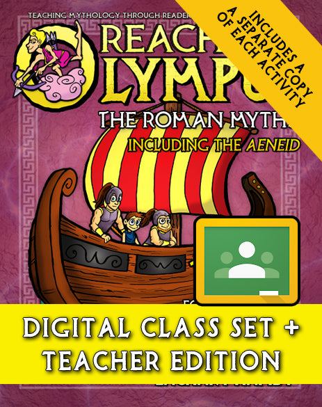 Reaching Olympus:  The Roman Myths (Digital Class Set)