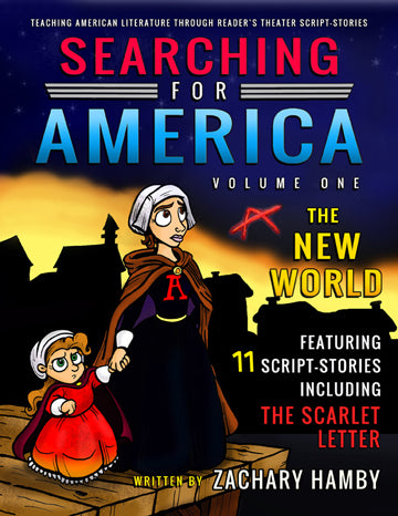Searching for America, Volume One: The New World (Print Textbook)