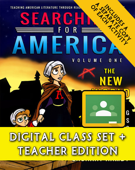 Searching for America, Volume One: The New World (Digital Class Set)