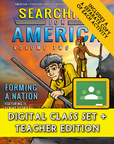 Searching for America, Volume Two: Forming a Nation (Digital Class Set)