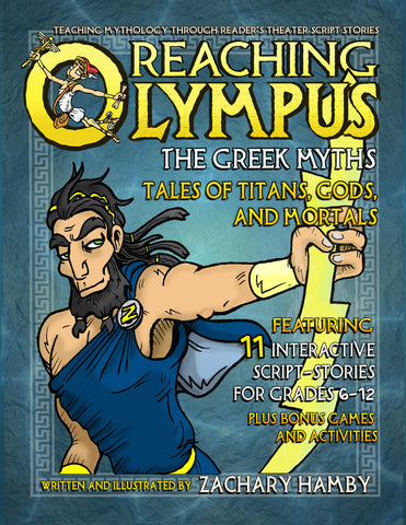 Reaching Olympus Mythology Textbook Series