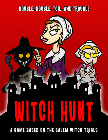 Witch Hunt:  A Salem Witch Trials Game