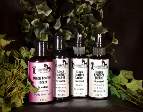 LeatherTyke Products Bath & Body Sampler