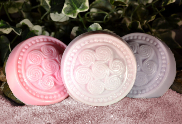 Round Celtic Soap Bar