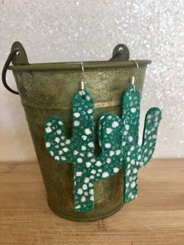 Cactus Earrings (Large)