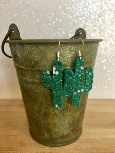 Cactus Earrings (Small)