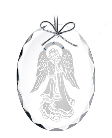 Celtic angel ornament