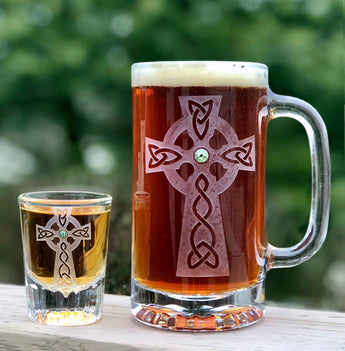 Beer Mug & Shot Glass Set