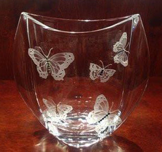 Butterfly Large Winged Vase