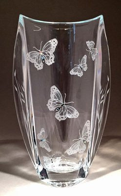 Butterfly Tall Winged Vase