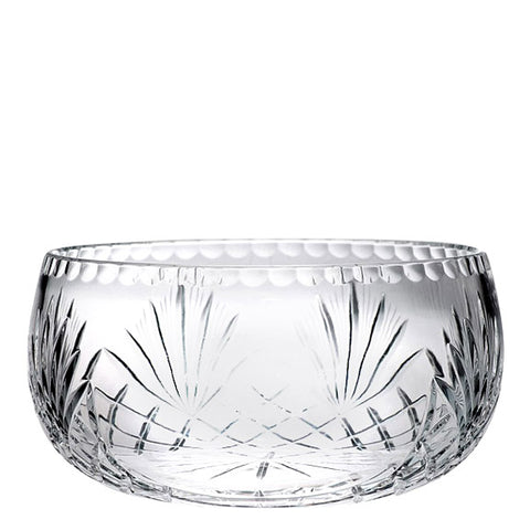 "Customizable 10"" Crystal Centerpiece Bowl"