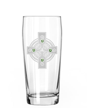 Celtic Shield Pint Glass