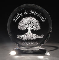 Tree of Life Faceted Cake Topper