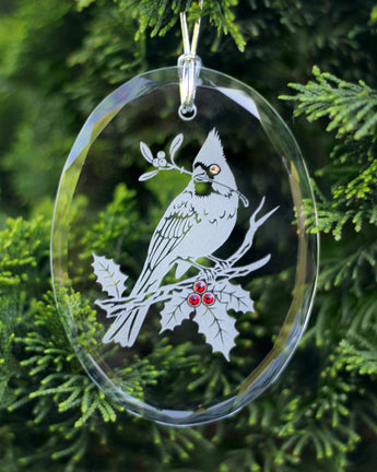 The Cardinal Ornament