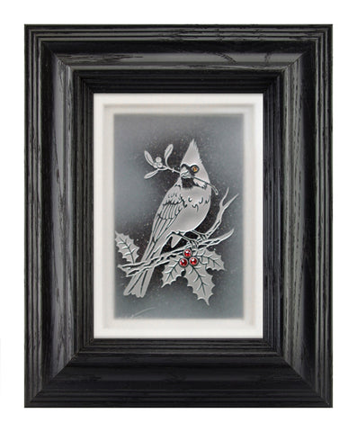 The Cardinal — Framed 5 x 7