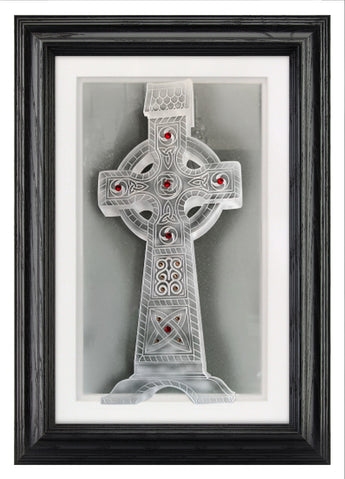 cashel cross framed 11 x 17