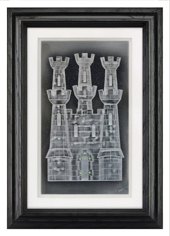 The Castle — Framed 11 x 17