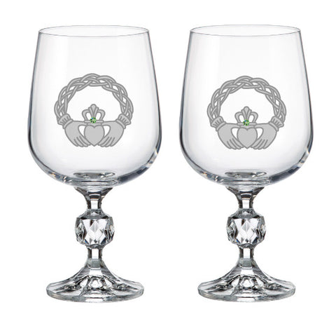 Dungarvan Wine Glass (Set of Two) All Designs Here!