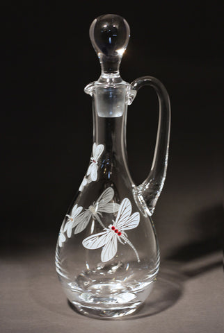 Dragonfly Claret Wine Decanter