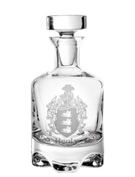 Family Crest Footed Decanter - 28oz or 32oz