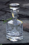 Trinity Knot Trio Footed Decanter - 28 oz.