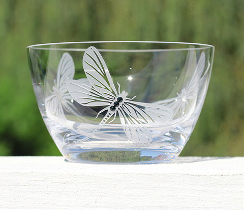 Dragonfly Accent Bowl
