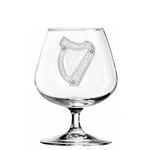 The Harp Brandy Glass