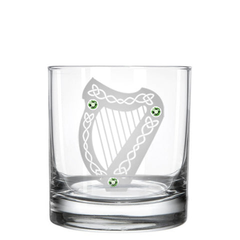 The Harp Whiskey Glass