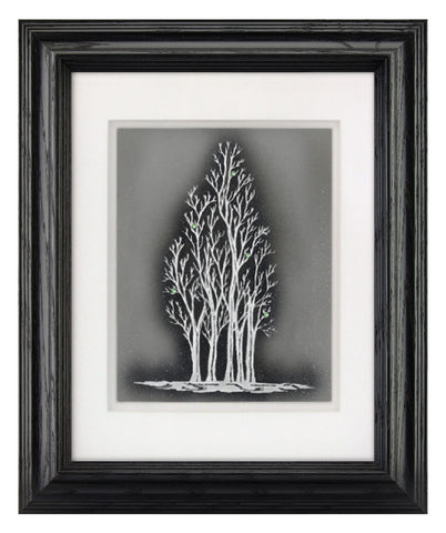 The Tree of Hope — Framed Hand-Carved Fine Art Glass